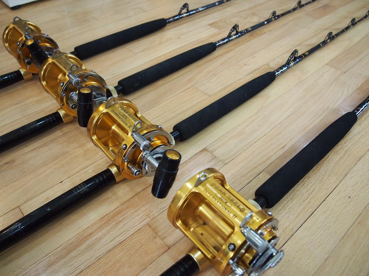 Penn & Shimano Reels, lots of rods-002-jpg