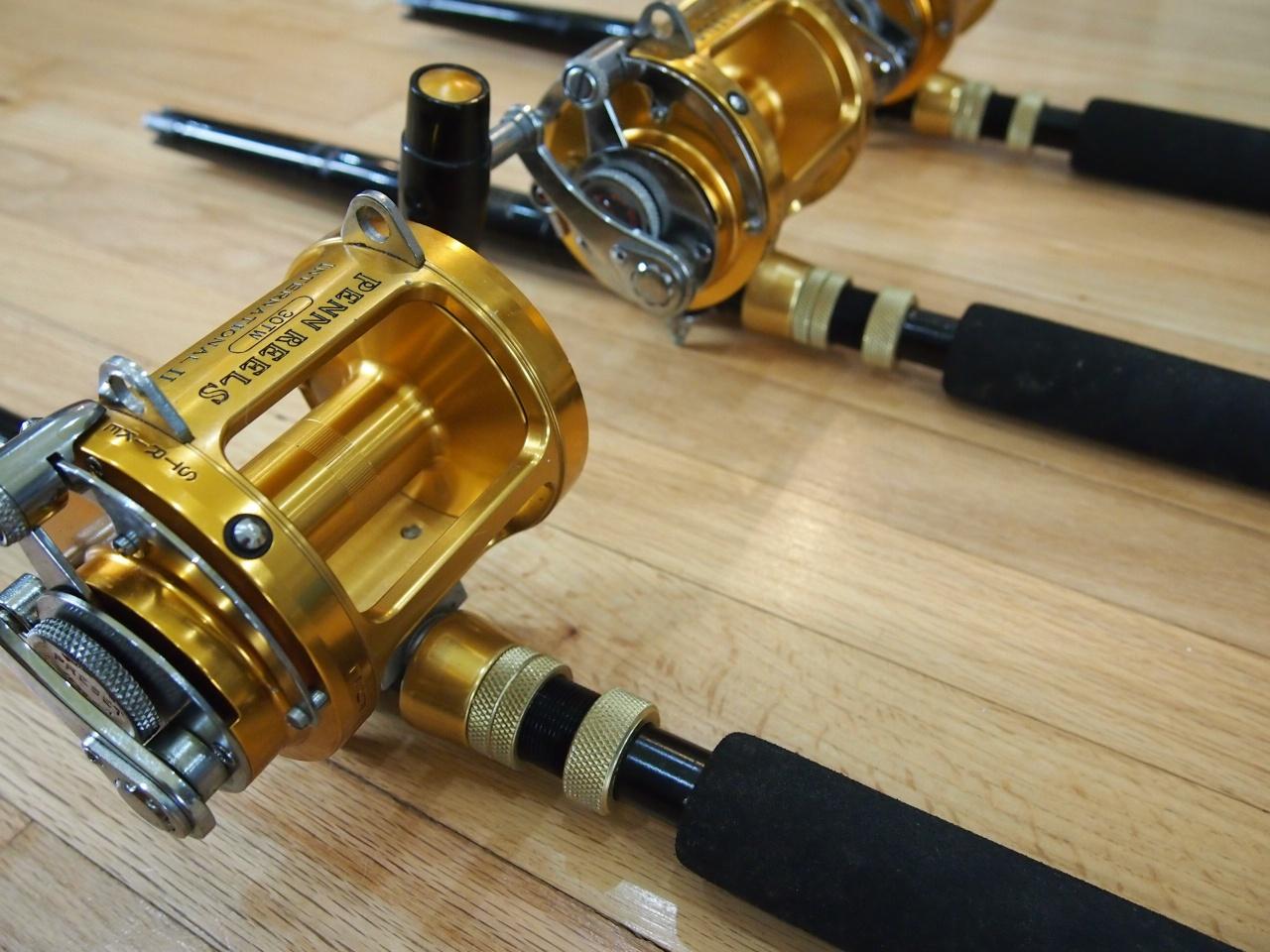Penn & Shimano Reels, lots of rods-004-jpg