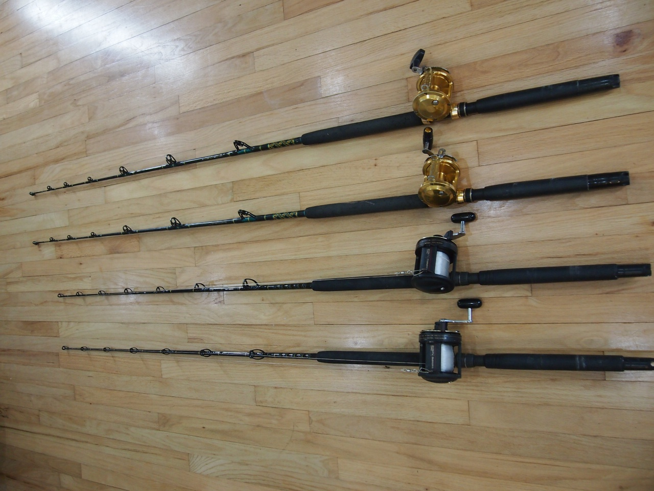 Penn & Shimano Reels, lots of rods-005-jpg