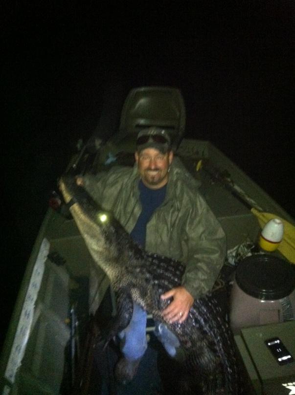 Gator hunting continues, Deer prep starts-005-jpg