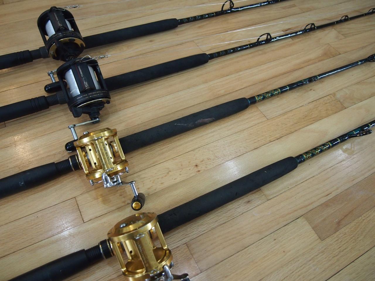 Penn & Shimano Reels, lots of rods-006-jpg