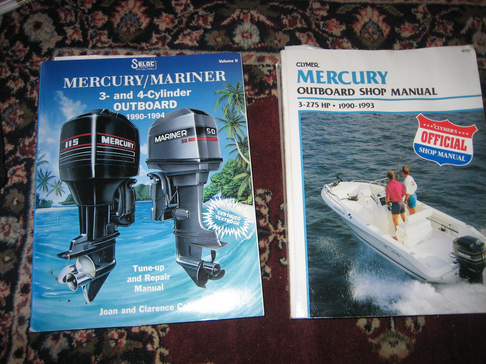 mercury outboard repair manuel