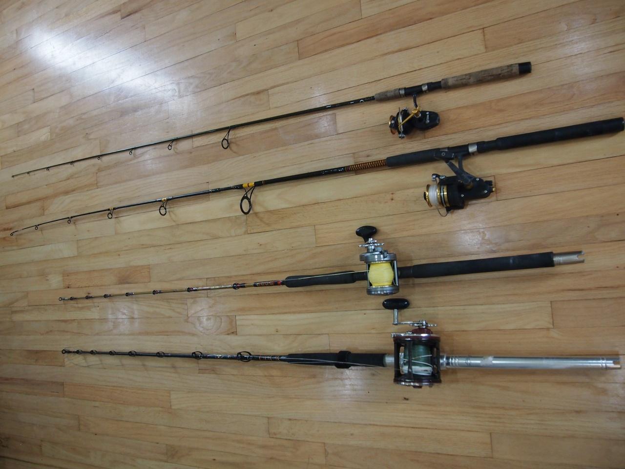 Penn & Shimano Reels, lots of rods-007-jpg