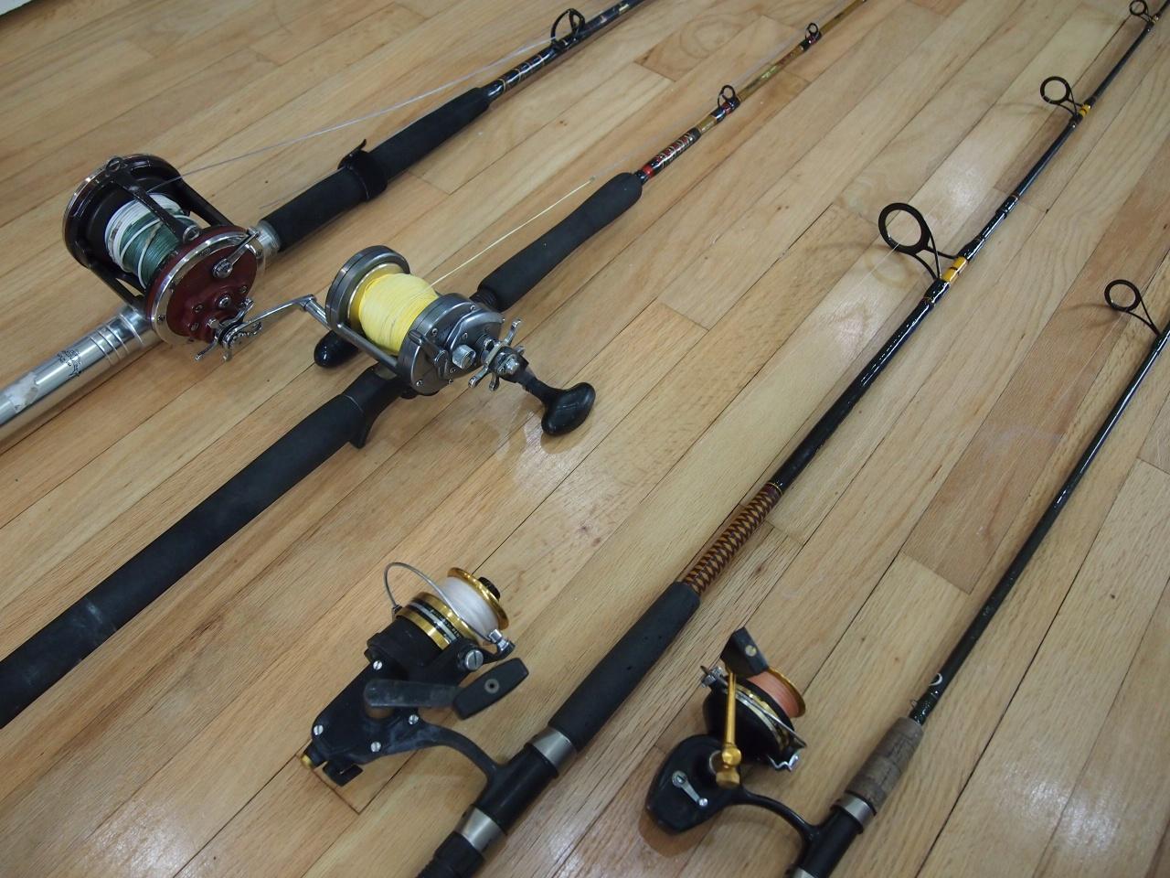 Penn & Shimano Reels, lots of rods-008-jpg