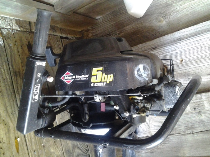 Briggs stratton outboard pensacola fishing forum for Briggs and stratton outboard motors for sale