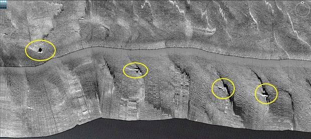 Side-scan sonar pics: More Pensacola Bay wrecks and reefs-01-small-jpg