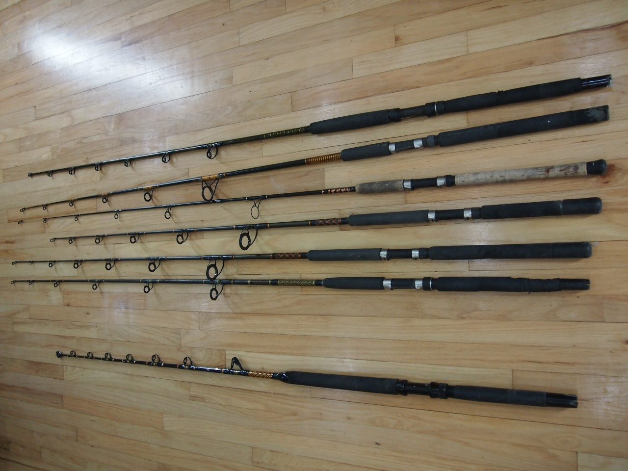 Penn & Shimano Reels, lots of rods-014-jpg