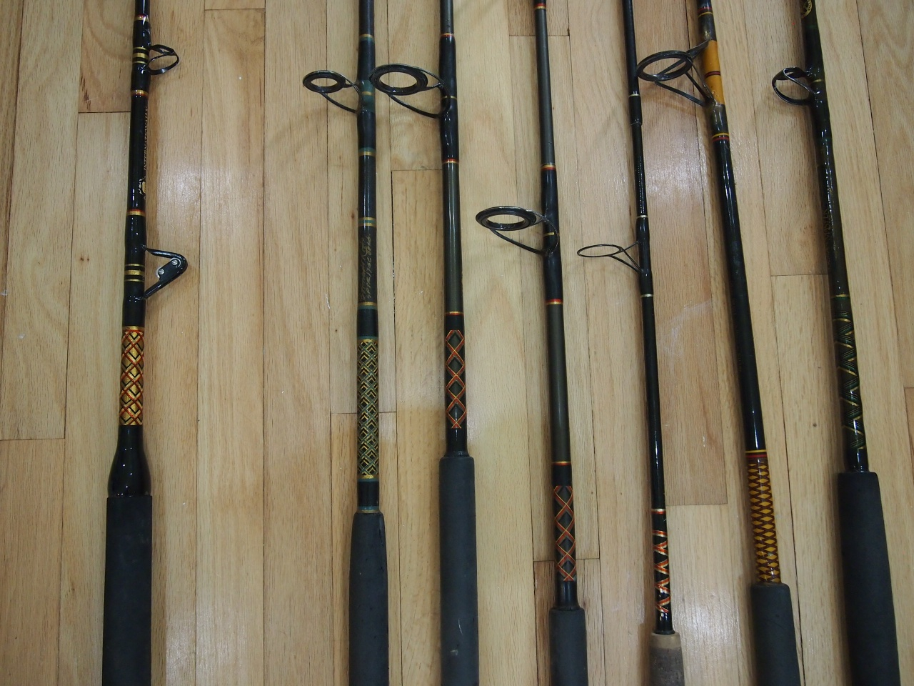 Penn & Shimano Reels, lots of rods-015-jpg