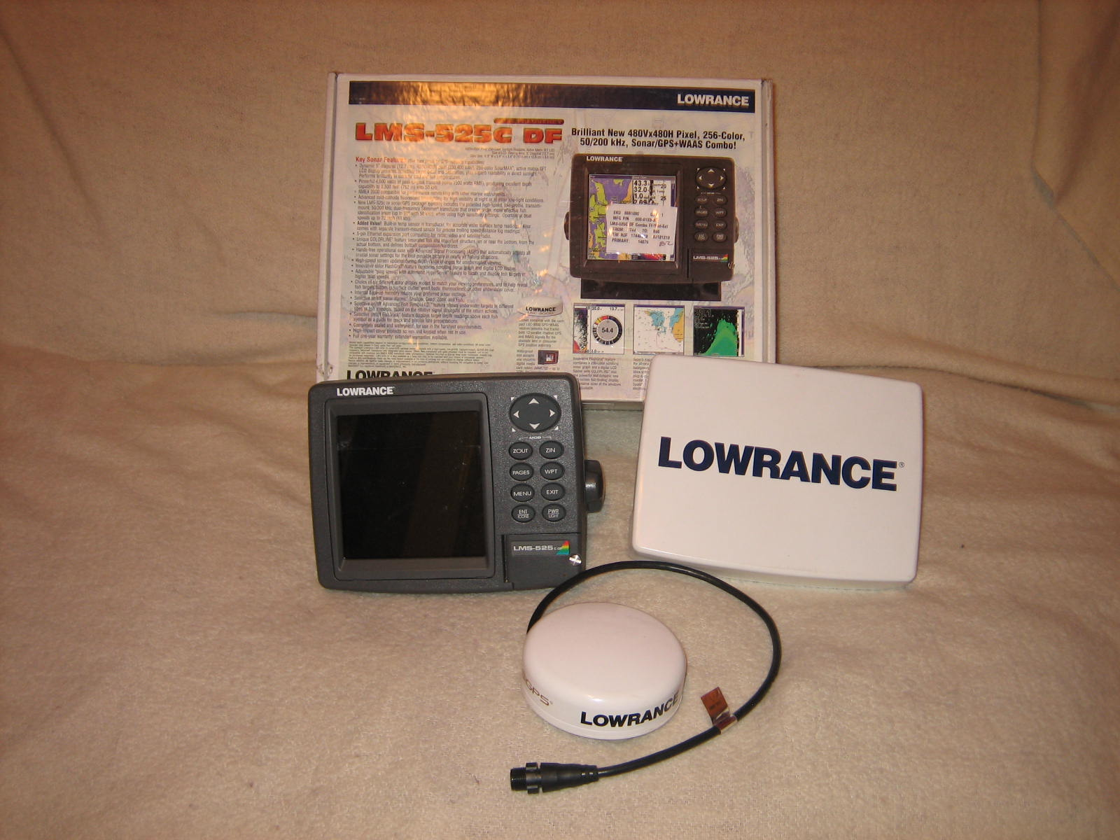 pensacola fishing forum - view single post - lowrance lms 525 df, Fish Finder