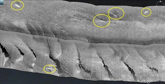 Side-scan sonar pics: More Pensacola Bay wrecks and reefs-02-small-jpg