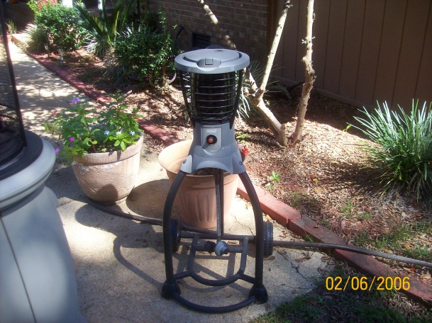 Coleman Mosquito Deleto/Brinkmann Outdoor Propane Heater 048 Jpg ...