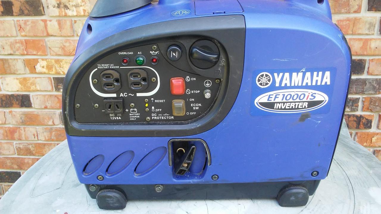 Yamaha EF1000iS Inverter (Generator) For Sale - Pensacola