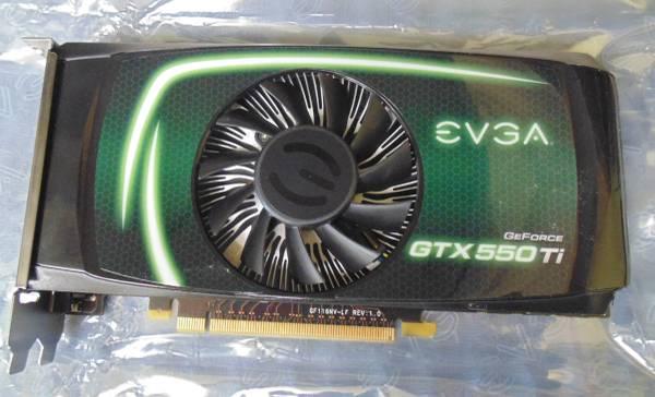 Graphics card - EVGA GeForce GTX 550 Ti-1-jpg
