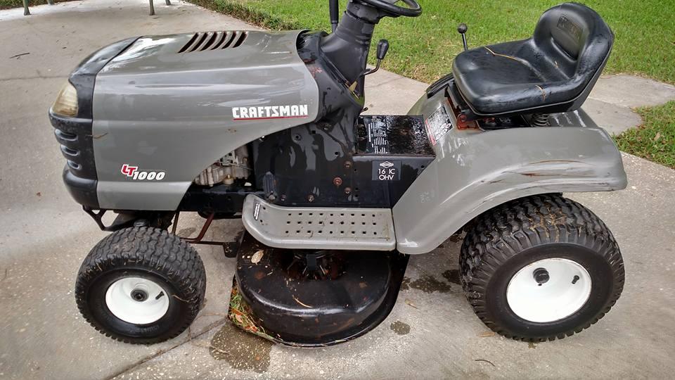 Craftsman Lt1000 Riding Mower >> Fs 38 Craftsman Lt1000 Riding Mower Cheap Pensacola Fishing Forum