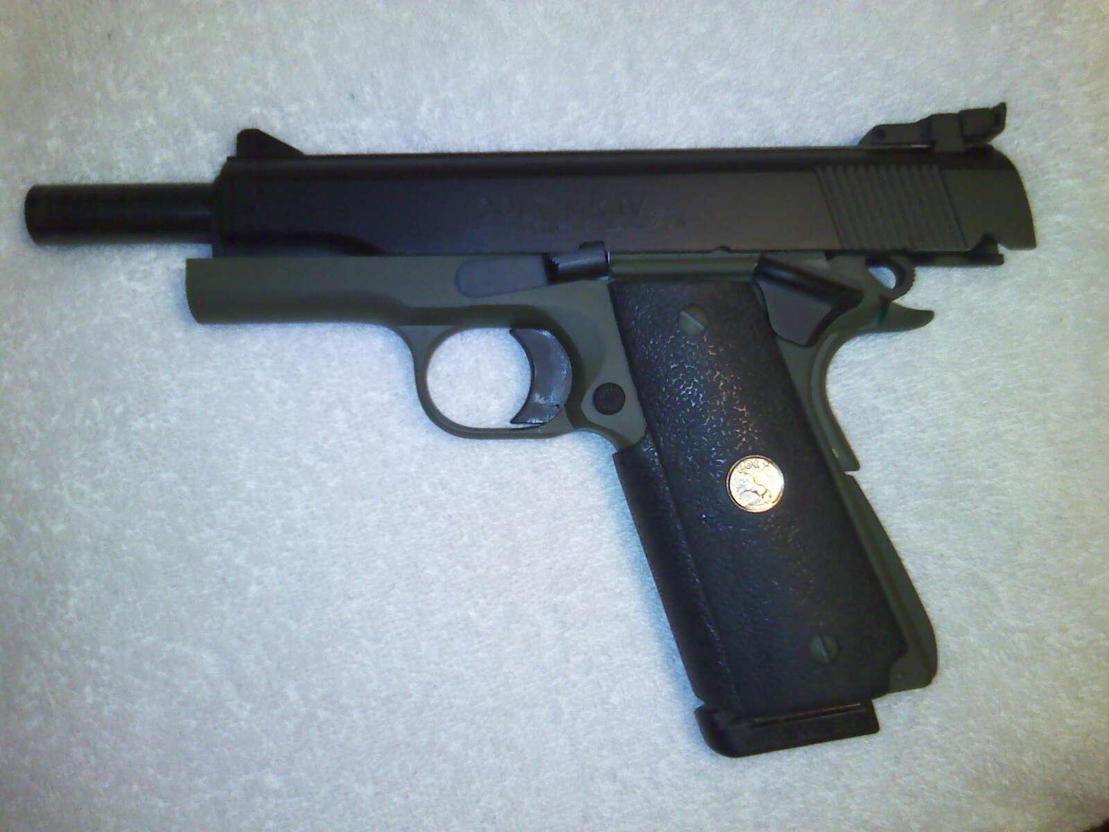 Old Colt 1911 with Cerakote coating-10-12-11_1842-jpg