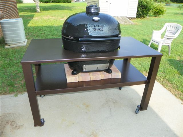 ... Table Made For My Primo XL Grill 100_0241 Jpg ...
