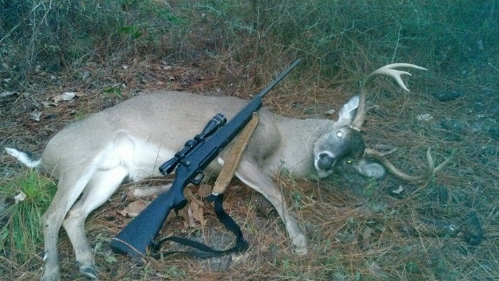 Finally took a buck on the new lease - Conecuh Forest-10952414_10152525077586431_7720200339253077427_n-jpg