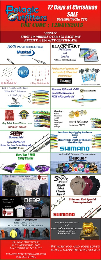 12 Days of Christmas Sale @ Pelagic Outfitters-12days-1-jpg