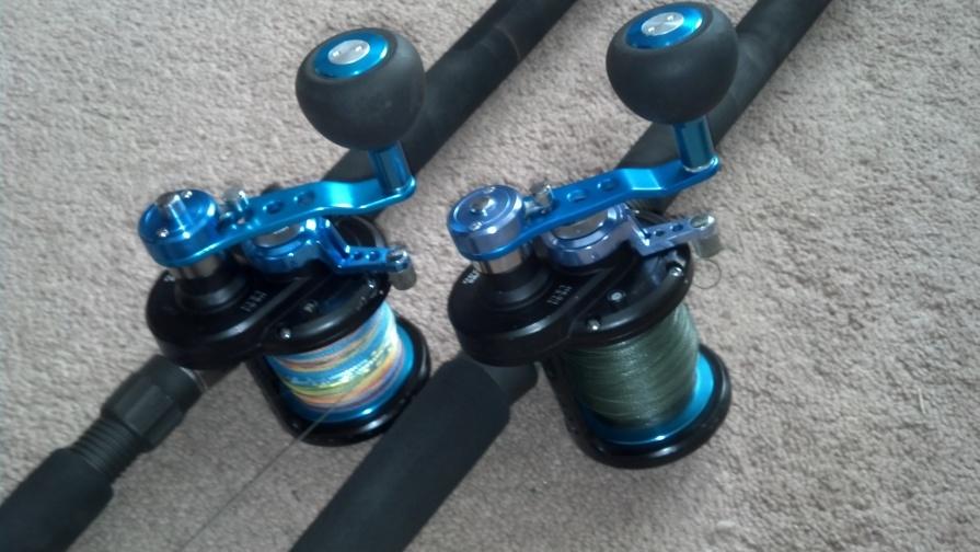 eecd7753259 Daiwa saltist Lever drag 2 speed reels - Pensacola Fishing Forum