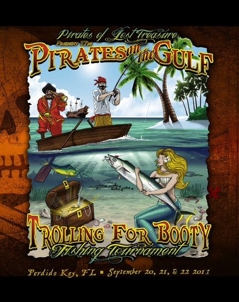 "2013 ""Trolling for Booty"" Fishing Tournament in Perdido Key-2013-cover-art-jpg"