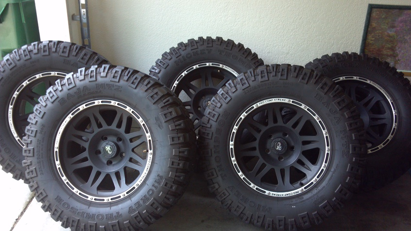 Jeep Off Road Wheels And Tires (four Plus Spare) 2014 05 ...