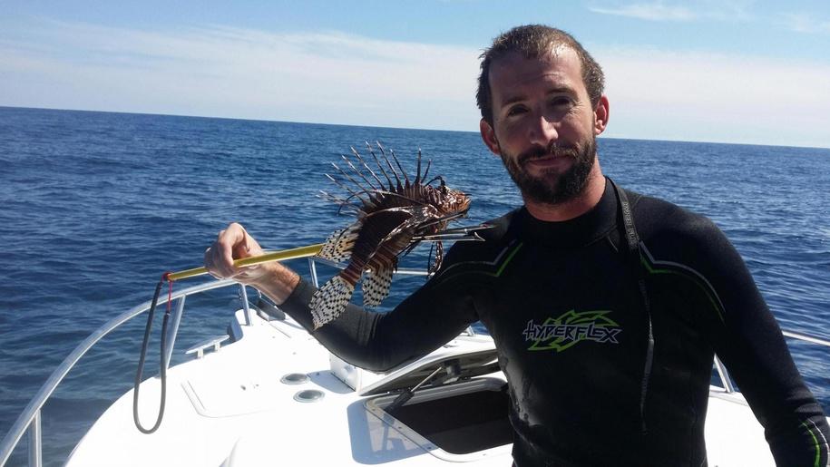 killed my first lion fish-20150925_135230_1443228820541-jpg