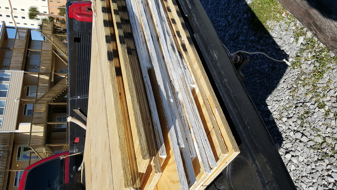 14 pieces of 4x8,  3/4 inch plywood sheeting for sale. 0 delivered up to 30 miles-20160209_134128-jpg