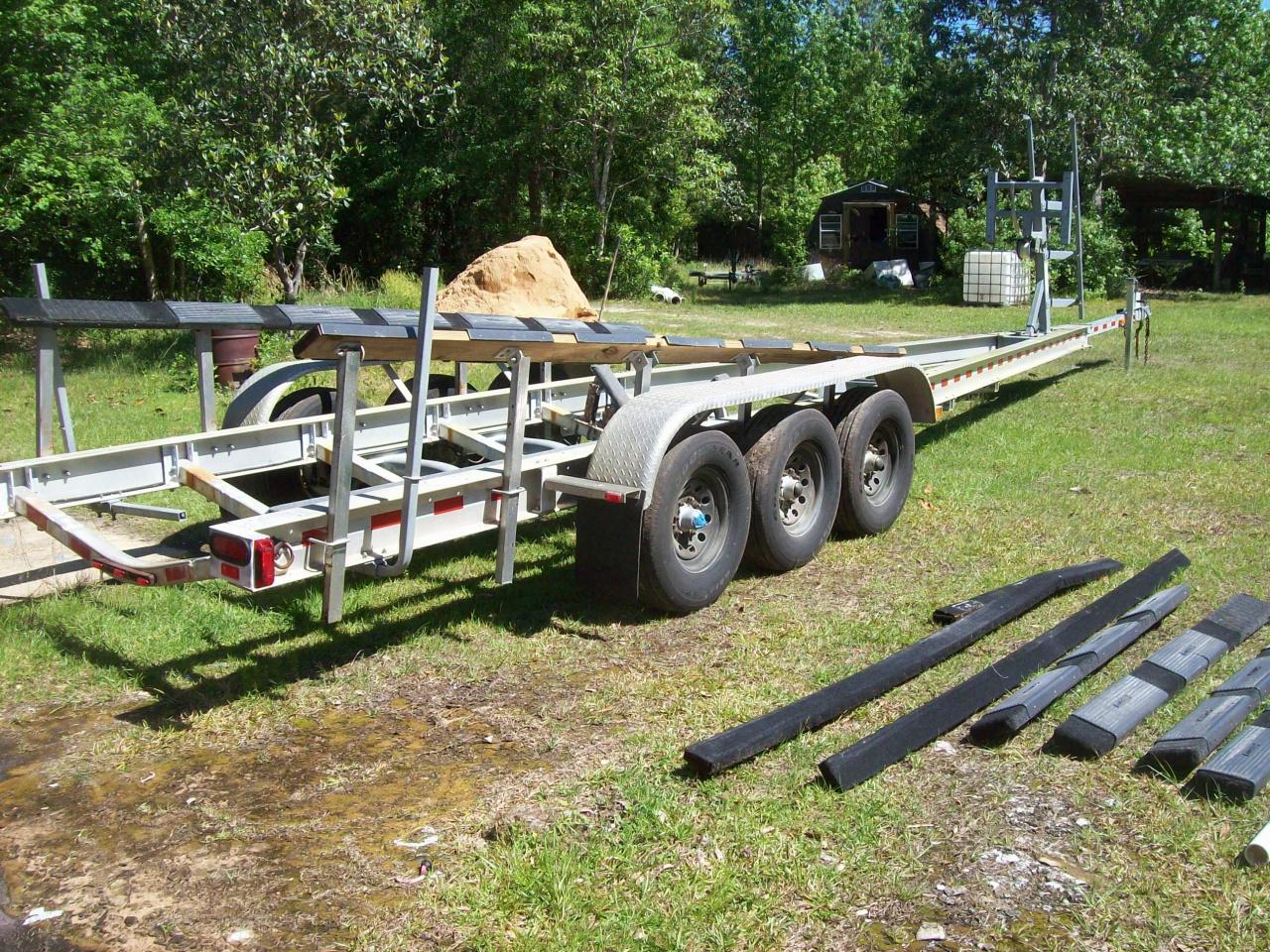 triple axle alum boat trailer - Pensacola Fishing Forum