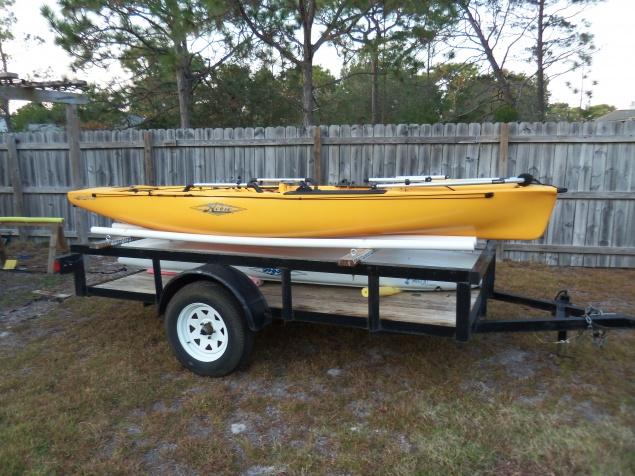 5 X 10 Heavy Duty Utility Trailer Kayak Pensacola