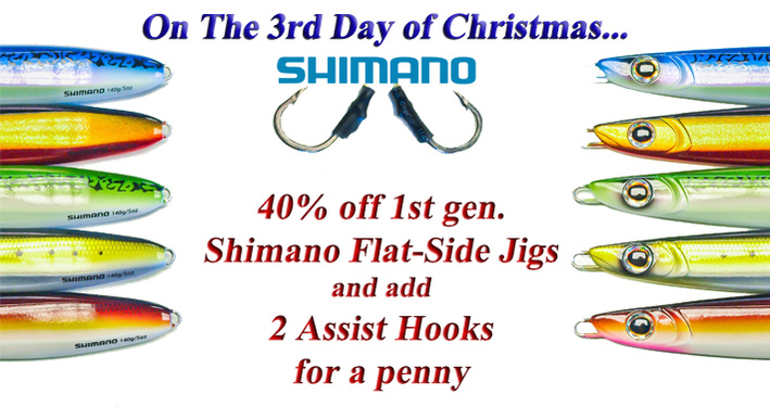 On the 3rd Day of Christmas, Shimano Flat Side Jigs!!-3rd-day-jpg