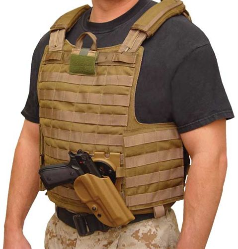 BLACKHAWK! LEVEL 2 TACTICAL SERPA HOLSTER w/ MOLLE and BELT ADAPTER - 5-590_alt_7-jpg