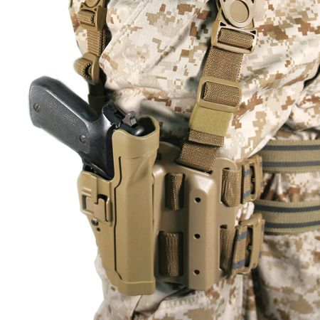 BLACKHAWK! LEVEL 2 TACTICAL SERPA HOLSTER w/ MOLLE and BELT ADAPTER - 5-5y35gd5f63k83f13n3c752fcfa499825f1e03-jpg
