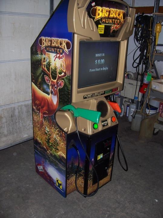 Big Buck Hunter Pro Arcade Shooting Game For Sale