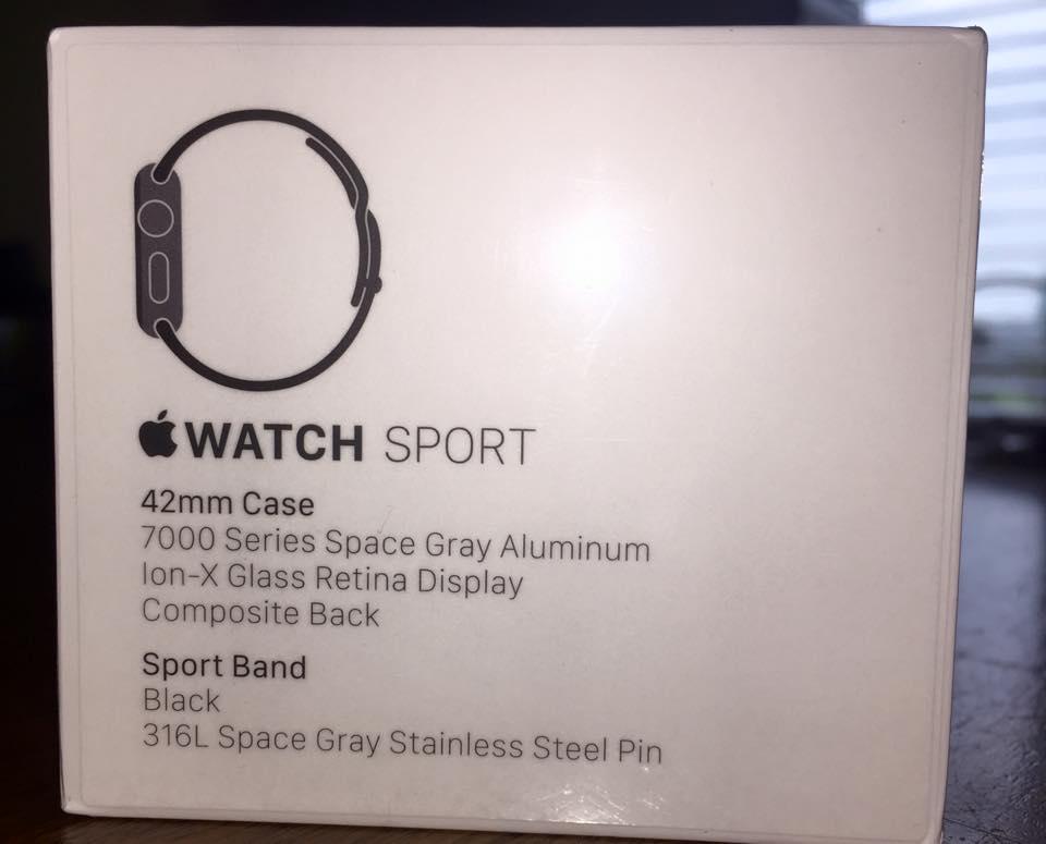 Apple Iwatch Sport Box Apple Iwatch Sport New i Won