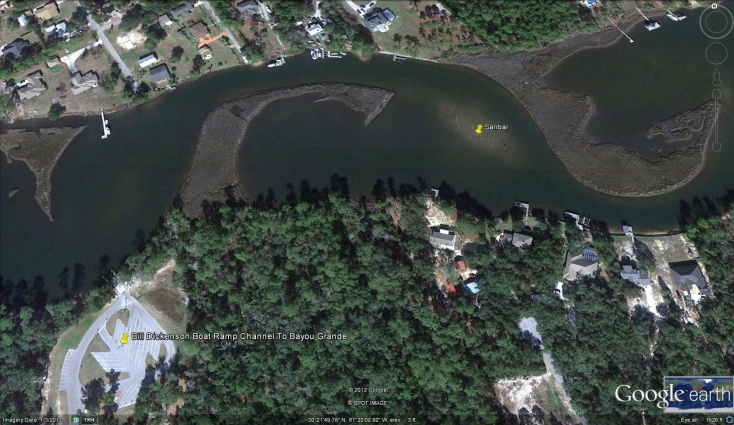 Bill Dickenson Boat Ramp Channel To Bayou Grande-bd-jpg