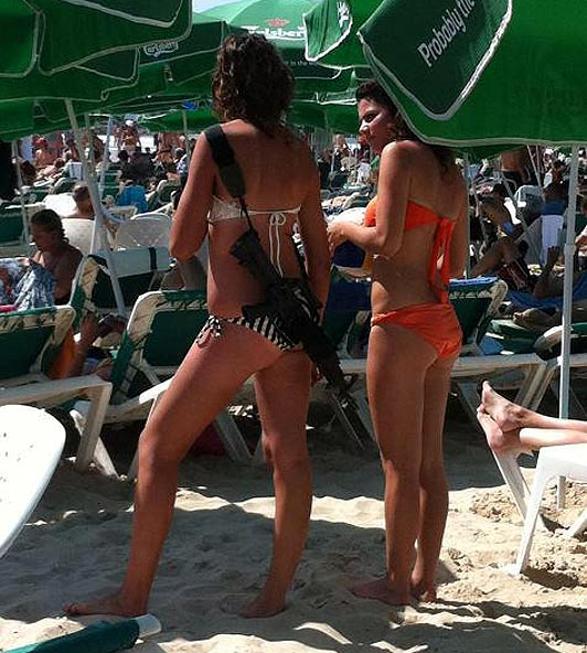 Girls Gone Fishing! Here is our collection. Enjoy!-bikini-gun-girl_1546417a-jpg