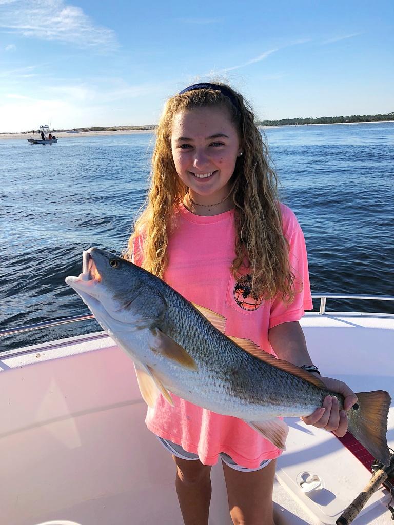 Daughters first Redfish Pensacola pass!!-c1f2b600-7865-4623-8b23-2f03372c5a76-jpg