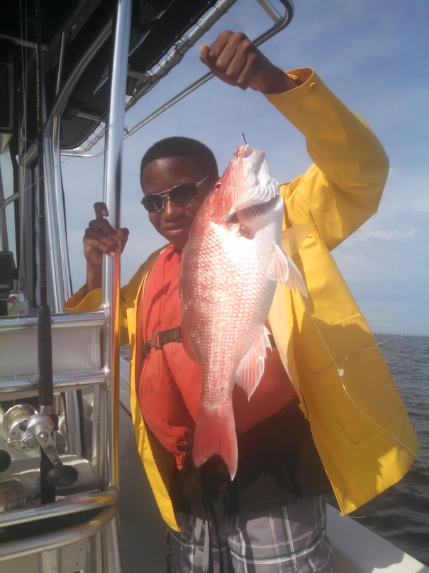 Hargreaves .. Day 1  Friday June 13  fishing in the rain-day-1-jamarrious-snapper-jpg