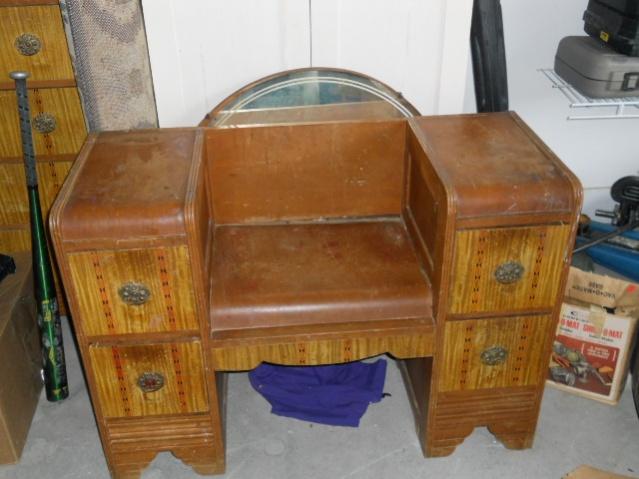 "Entertainment center and a ""32 SANYO tv FS and a Antique Dresser-dresser-sale-001-jpg"