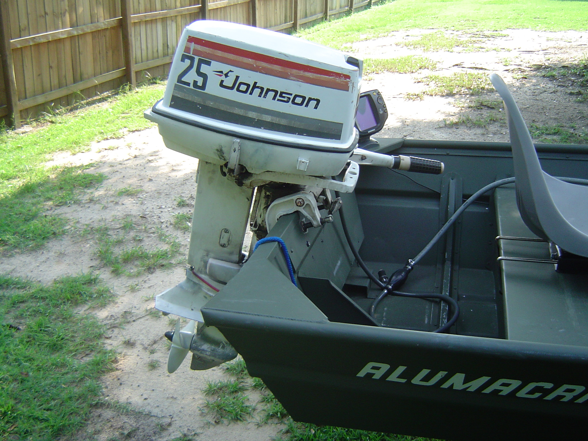 1976 johnson Outboard 25hp Manual