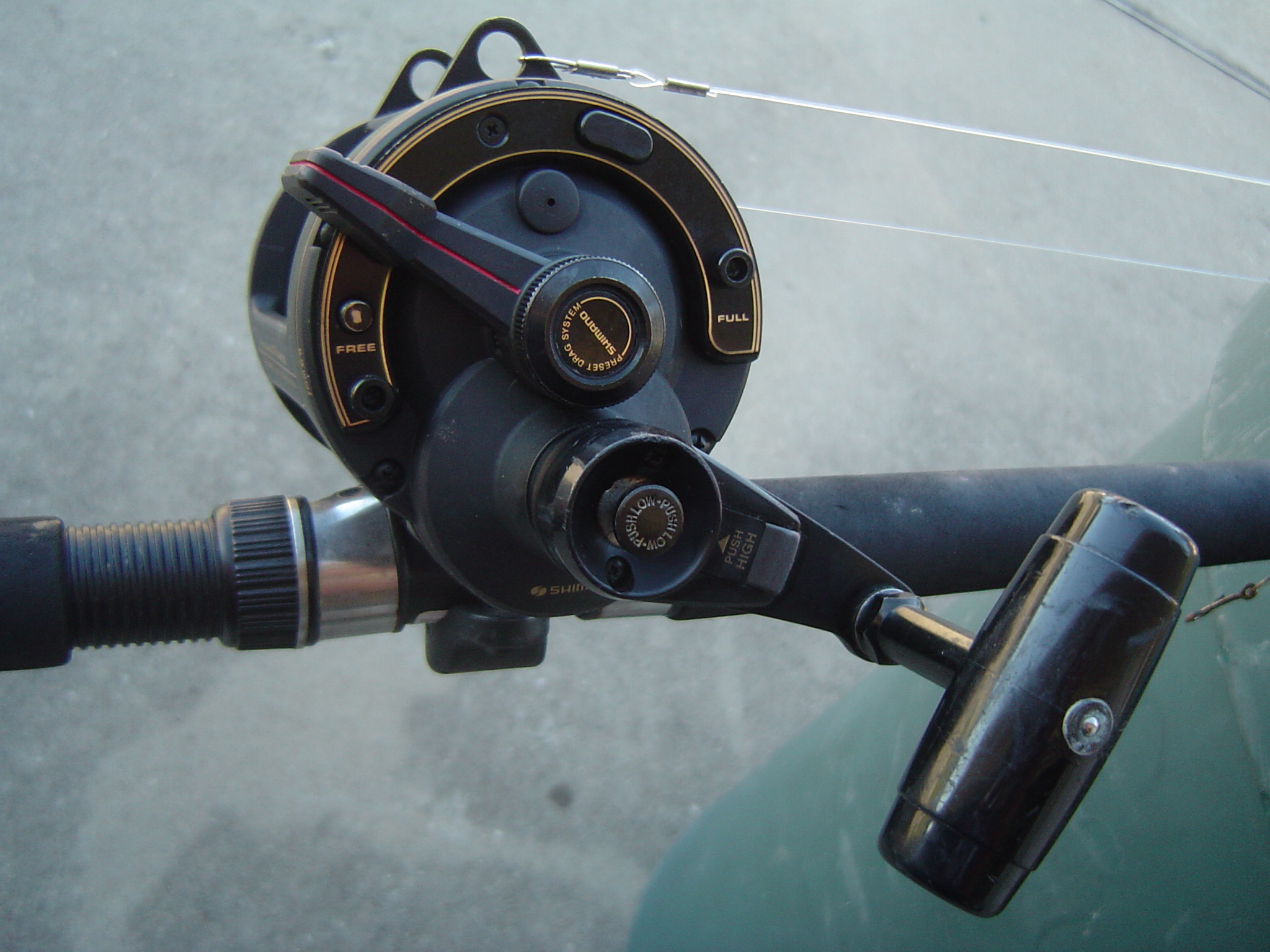 1e86cd17257 Okuma Titus T50 and Shimano Beastmaster with rods for sale-dsc00714-jpg