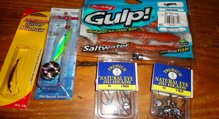 Redfish bait    i was told this is all you need for them
