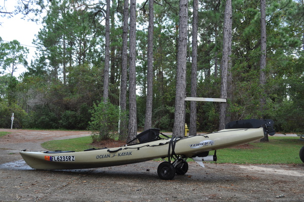 Ocean kayak torque motorized - Pensacola Fishing Forum