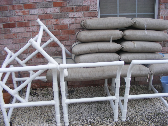 PVC Patio Furniture 4 chairs for sale. (Pic)-dscf1229-jpg