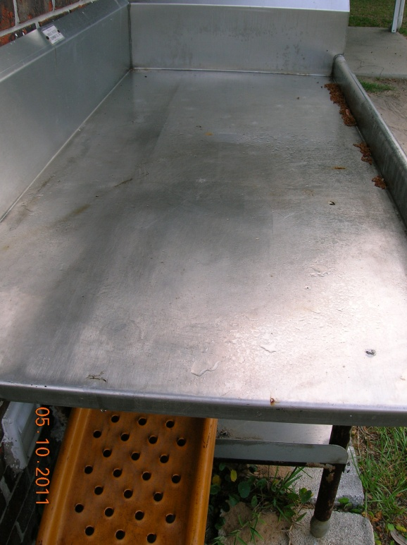 Superbe ... Stainless Steel Fish Cleaning Table For Sale Dscn0772 Jpg