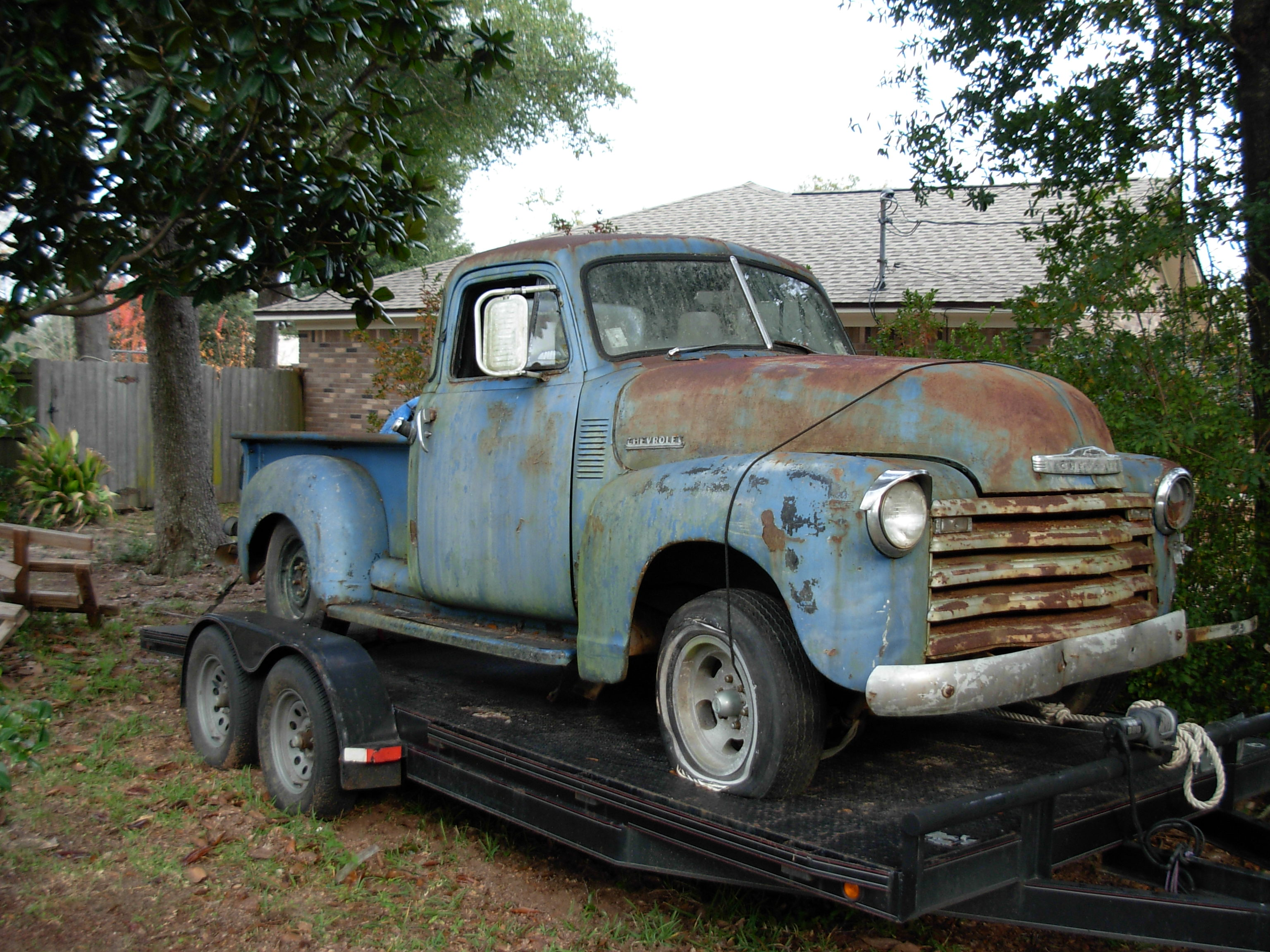 Perfect Old Chevy Project Trucks For Sale Composition - Classic Cars ...