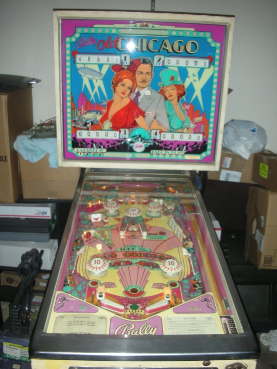 Old School Pinball Machine For Sale - Pensacola Fishing Forum