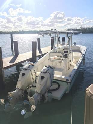 """Twin Evinrude 150 Etec 25"""" Outboards For Sale-etecs-jpg"""