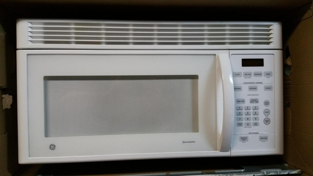 GE Over The Range Microwave Oven Ge Undercabinet Microwave 2_1527780060670 Jpg  ...