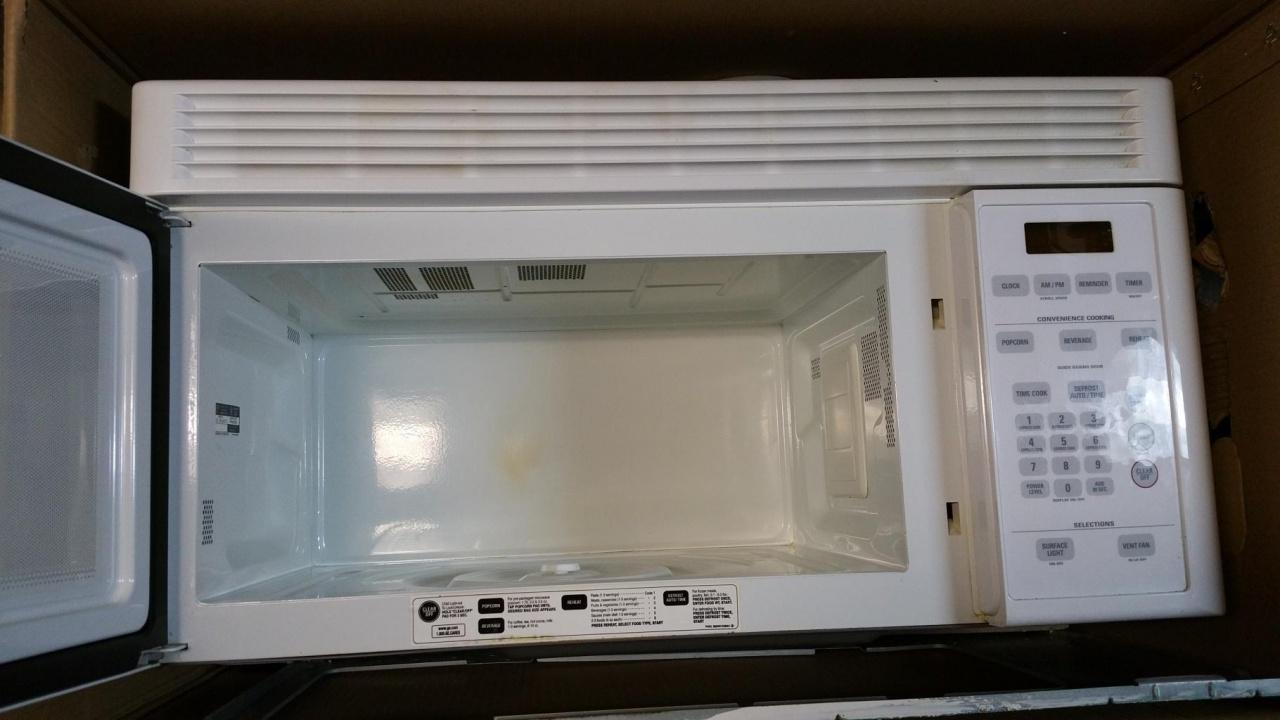 Genial ... GE Over The Range Microwave Oven Ge Undercabinet  Microwave_1527780103324 Jpg